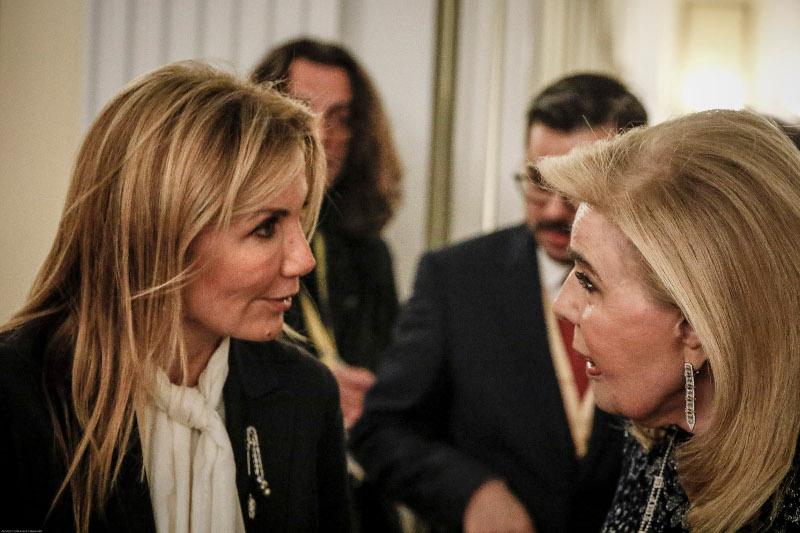 Ξεκίνησε το δείπνο Παυλόπουλου προς τιμήν του ζεύγους Ερντογάν