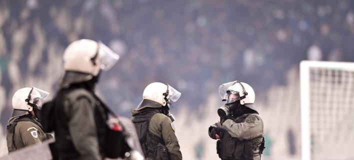 επεισόδια στο ΟΑΚΑ/Φωτογραφία: Eurokinissi