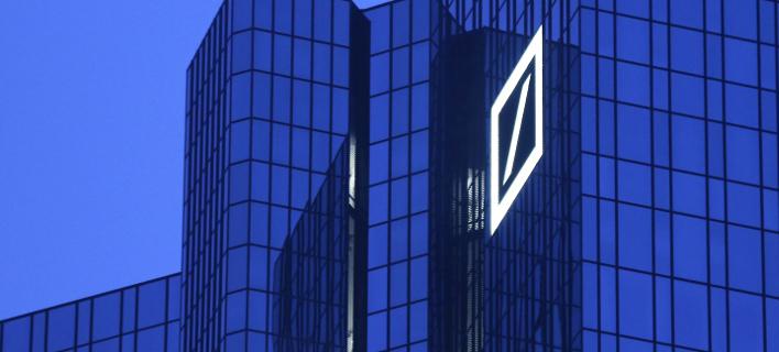 Η Deutsche Bank στη Φρανκφούρτη/Φωτογραφία: ΑΡ