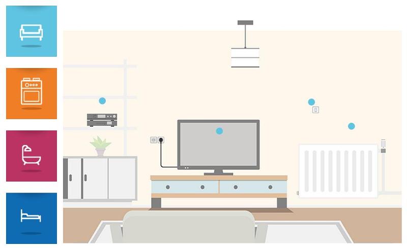 Το διαδραστικό σπίτι της ΕΕ, όπου παρουσιάζει απλούς τρόπους για εξοικονόμηση ενέργειας