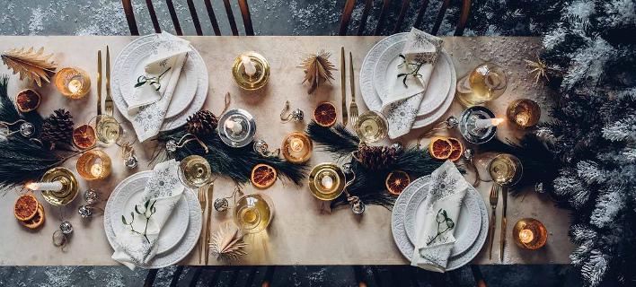 Γιορτινή διακόσμηση/ Φωτογραφία: Ζara Home