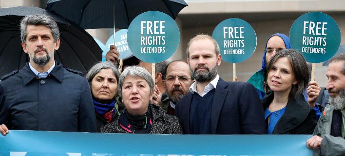 Διαμαρτυρία Τουρκία για απελευθέρωση κρατούμενων/Φωτογραφία αρχείου AP images