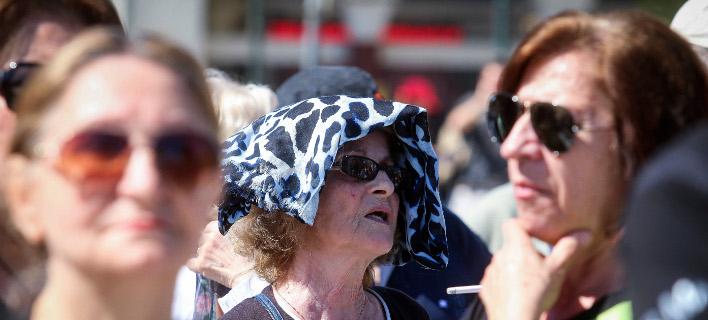 Διαμαρτυρία στη Θεσσαλονίκη/Φωτογραφία: Eurokinissi