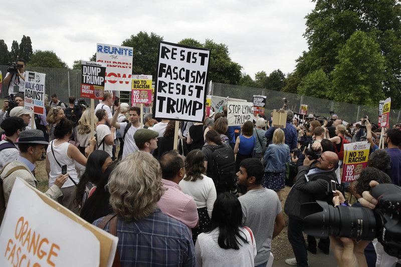 Διαδήλωση στο Λονδίνο/ Φωτογραφία AP images