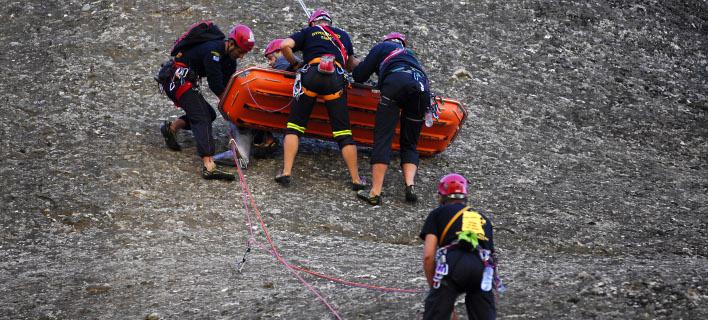 ομάδα διάσωσης/Φωτογραφία: Eurokinissi
