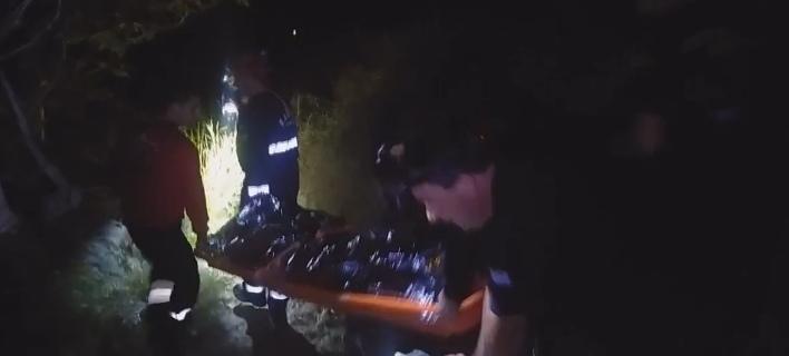 Διάσωση Γαλλίδας σε φαράγγι στην Κρήτη
