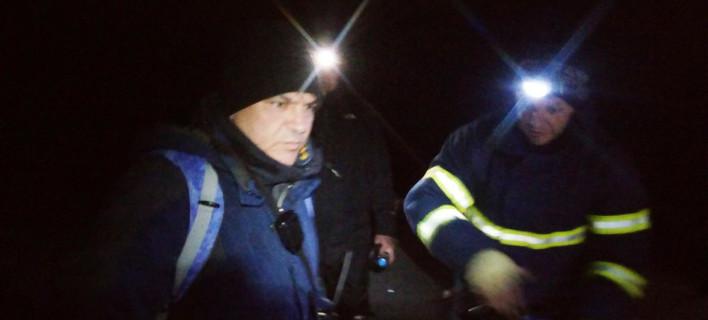 Η στιγμή της διάσωσης πέντε εγκλωβισμένων στα Βαρδούσια [βίντεο]