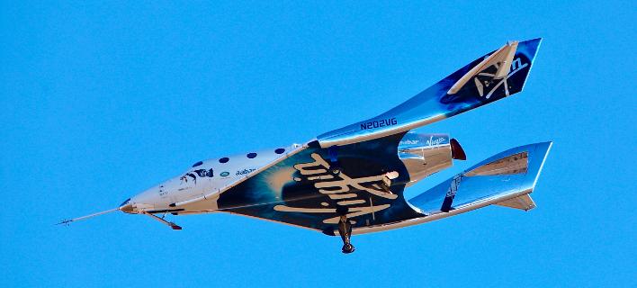Η πρώτη τουριστική πτήση στο διάστημα θα γίνει μέχρι τον επόμενο Μάρτιο -Φωτογραφία: AP Photo/John Antczak