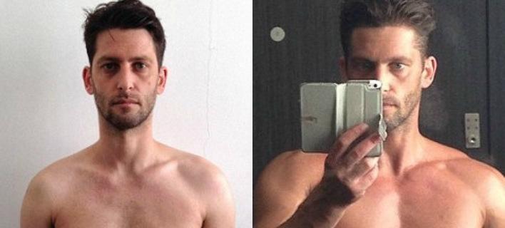 Γυμναζόταν 5 ώρες την εβδομάδα και είχε πλάνο διατροφής -Εφτιαξε σώμα σε 12 εβδομάδες [εικόνες]