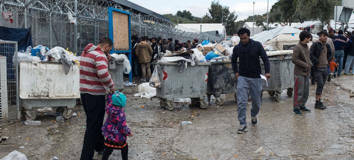 Αθλιες συνθήκες για τους πρόσφυγες στην Ελλάδα καταγράφει η έκθεση της Διεθνούς Αμνηστίας/ Φωτογραφία: Sooc