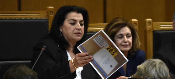 Ο δημοσιογράφος Δημήτρης Ψαρράς κατέθεσε στη δίκη της Χρυσής Αυγής / Φωτογραφία: (EUROKINISSI/ΤΑΤΙΑΝΑ ΜΠΟΛΑΡΗ)