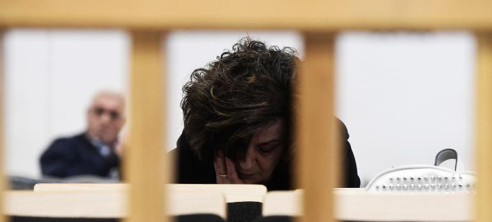 Προστατευόμενος μάρτυρας στη δίκη της Χ.Α. -Φωτογραφία αρχείου: EUROKINISSI / Τατιάνα Μπόλαρη