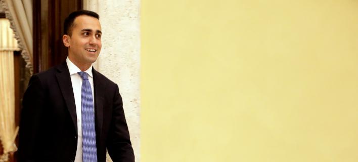 O ηγέτης των 5 Αστέρων, Λουίτζι Ντι Μάιο (Φωτογραφία: ΑΡ)