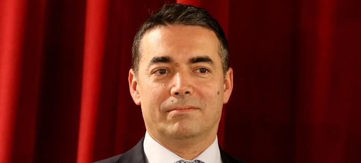 O υπουργός Εξωτερικών της ΠΓΔΜ, Νικολά Ντιμιτρόφ (Φωτογραφία αρχείου: ΑΡ)