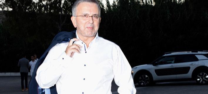 Ο δημοσιογράφος Δήμος Βερύκιος. Φωτογραφία: Ndp photos