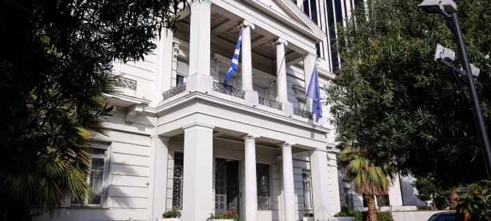 Το υπουργείο Εξωτερικών (Φωτογραφία: EUROKINISSI/ΓΙΩΡΓΟΣ ΚΟΝΤΑΡΙΝΗΣ)