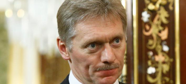 O εκπρόσωπος Τύπου του Βλαντίμιρ Πούτιν, Ντμίτρι Πεσκόφ (Φωτογραφία αρχείου: Sergei Karpukhin/Pool Photo via AP)