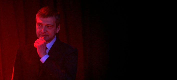 O Ρώσος μεγιστάνης Ντμίτρι Ριμπολόβλεφ (Φωτογραφία: ΑΡ/Lionel Cironneau)