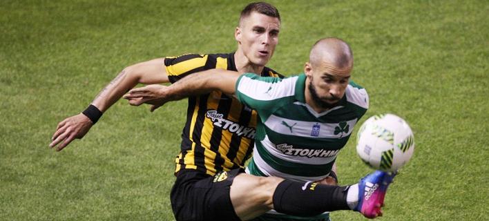 Super League: Παναθηναϊκός – ΑΕΚ 1-1 (ΤΕΛΙΚΟ)