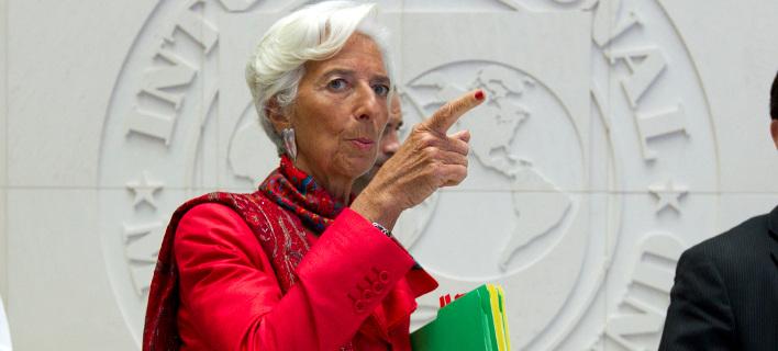 Η επικεφαλής του ΔΝΤ, Κριστίν Λαγκάρντ/Φωτογραφία: ΑΡ