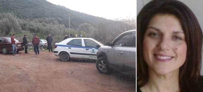 Η 44χρονη Ειρήνη Λαγούδφη που βρέθηκε νεκρή μέσα στο αυτοκίνητό της