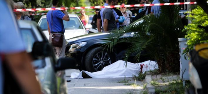 δολοφονία στο Ψυχικό/Φωτογραφία: Eurokinissi
