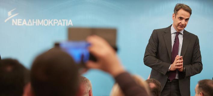 Μητσοτάκης: Θα γκρεμίσω το κομματικό κράτος του ΣΥΡΙΖΑ, χωρίς απολύσεις [εικόνες]