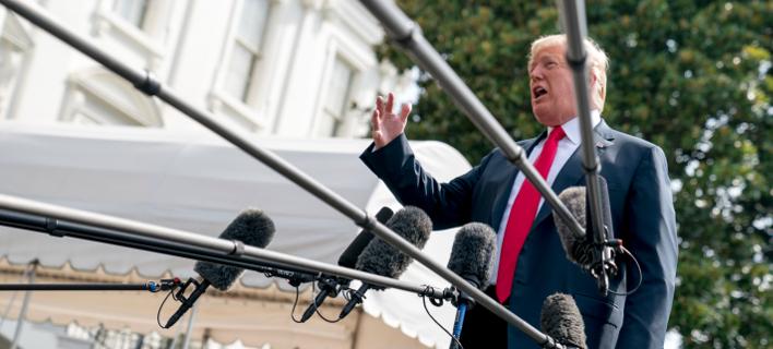 Ντόναλντ Τραμπ (Φωτογραφία: AP Photo/Andrew Harnik)
