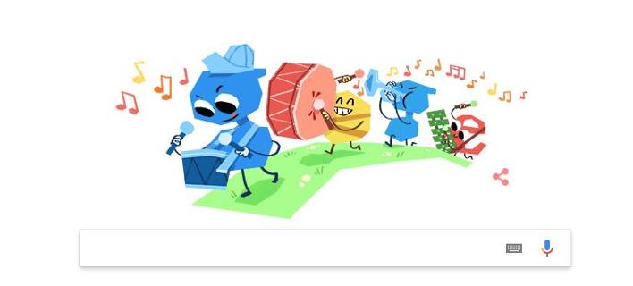 Η Google τιμά την Παγκόσμια Ημέρα Παιδιού με το σημερινό της Doodle