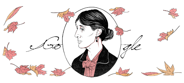 Το Google Doodle προς τιμήν της Βιρτζίνια Γουλφ