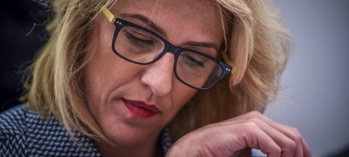 Η Ρένα Δούρου/ Φωτογραφία: EUROKINISSI- ΤΑΤΙΑΝΑ ΜΠΟΛΑΡΗ