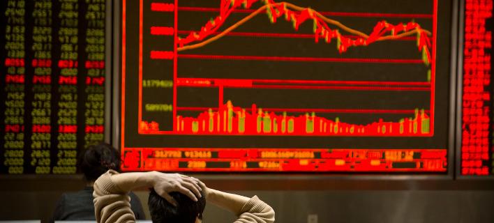 Η χειρότερη συνεδρίαση Παραμονής Χριστουγέννων για την Wall Street -AP