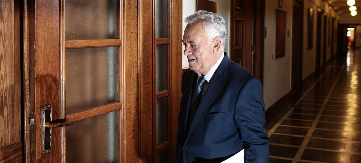 Ο αντιπρόεδρος της κυβέρνησης, Γιάννης Δραγασάκης/Φωτογραφία:SOOC/Menelaos Myrillas