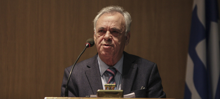 Ο Γιάννης Δραγασάκης (Φωτογραφία: EUROKINISSI/ ΣΩΤΗΡΗΣ ΔΗΜΗΤΡΟΠΟΥΛΟΣ)