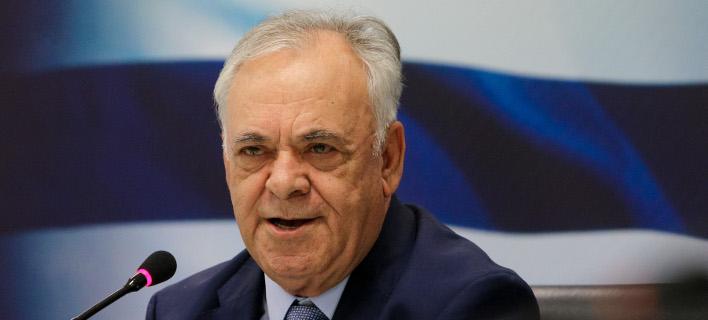 Ο αντιπρόεδρος και υπ. Οικονομίας Γιάννης Δραγασάκης -Φωτογραφία αρχείου: Intimenews