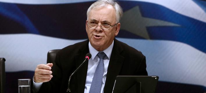 Ο αντιπρόεδρος της κυβέρνησης Γ. Δραγασάκης -Φωτογραφία αρχείου: Intimenews