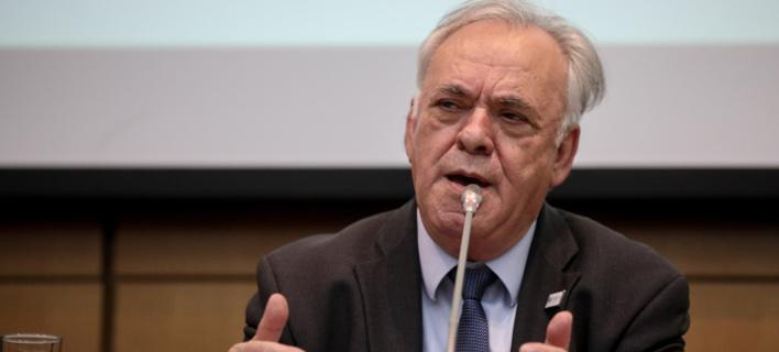 Ο Γιάννης Δραγασάκης (Φωτο: Eurokinissi)