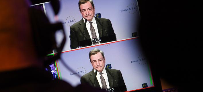 Γρίφος από τον Ντράγκι -Γιατί η ΕΚΤ δεν αποκλείει 4ο Μνημόνιο /Φωτογραφία: ΑΡ