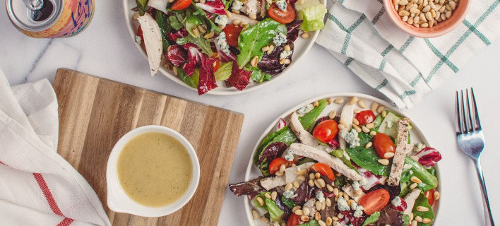 Σαλάτα με σως, Φωτογραφία: Shutterstock