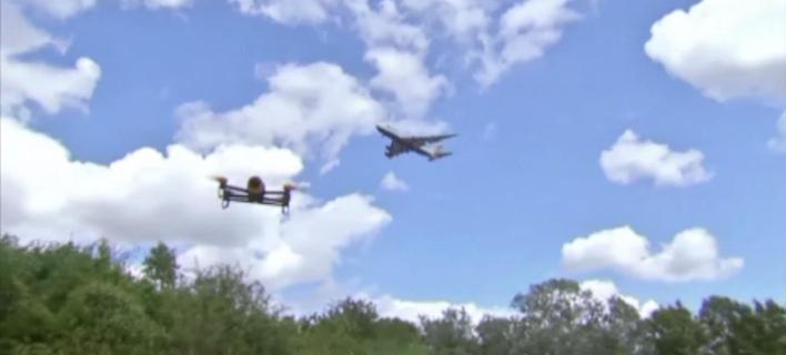 Χειρότερη η σύγκρουση αεροπλάνου με drone από ό,τι με πουλί