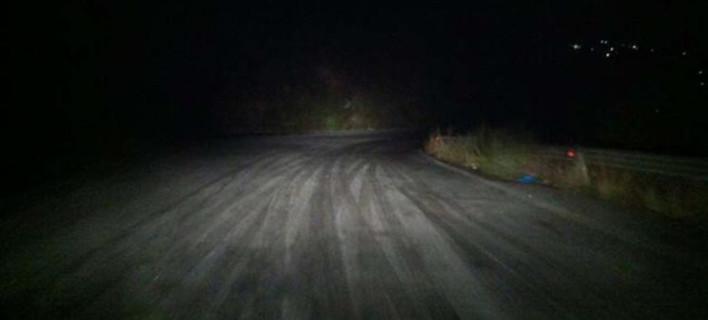 Παγωμένοι χωρίς φώτα οι δρόμοι, φωτογραφία: argolikeseidhseis.gr