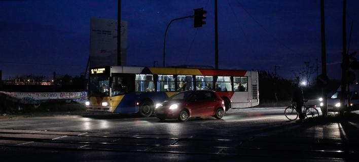 ΟΑΣΘ: 174 λεωφορεία εκτελούν δρομολόγια -53 με αντιολισθητικές αλυσίδες
