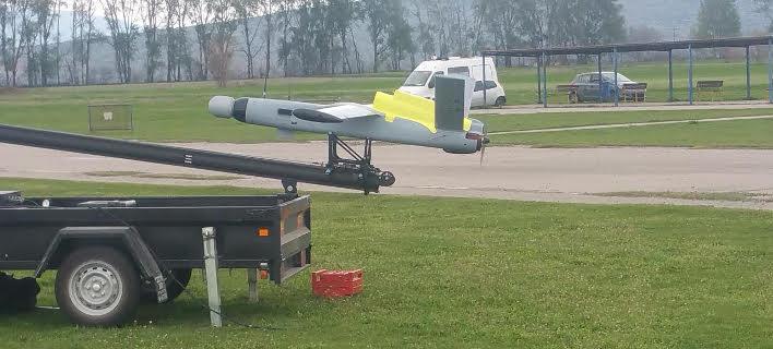 Ενα από τα drone που δεν... πέταξαν ποτέ
