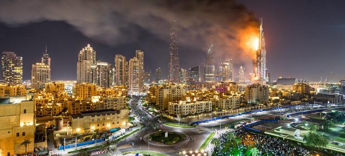 Τρόμος στο Ντουμπάι - 1 νεκρός και 16 τραυματίες από πυρκαγιά σε luxury ξενοδοχείο [εικόνες]