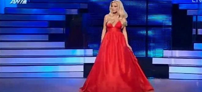 Στα κόκκινα και απίστευτα αγχωμένη η Δούκισσα στην πρεμιέρα του Dancing With the