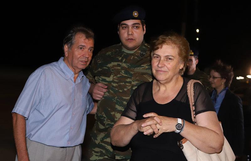 Ο Δημήτρης Κούκλατζης μαζί με τους γονείς του