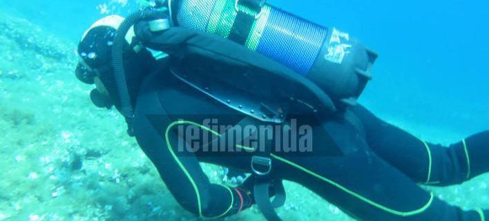 Ακαρπες απέβησαν δυστυχώς, οι έρευνες των δυτών του Poseidon Club στο Κόκκινο Λιμανάκι της Ραφήνας