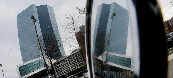 Η ΕΚΤ στη Φανκφούρτη/Φωτογραφία:ΑΡ