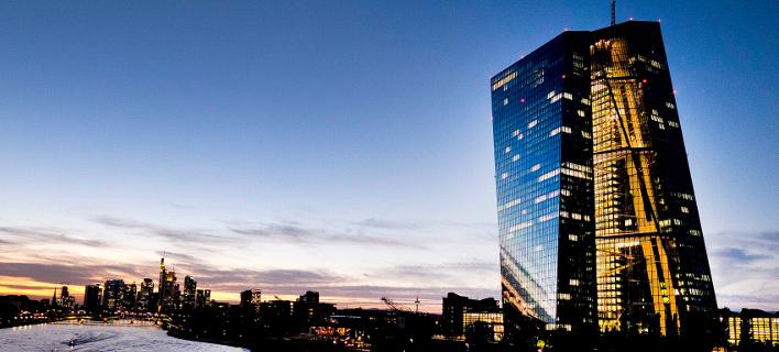 Το κτίριο της ΕΚΤ στη Φρανκφούρτη -Φωτογραφία αρχείου: AP Photo/Michael Probst