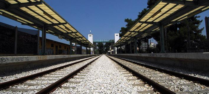 Σιδηροδρομική γραμμή/Φωτογραφία: Eurokinissi